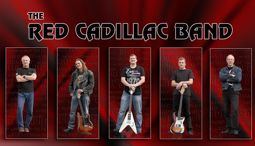 The RED CADILLAC BAND - Finest Party Rock since 1989